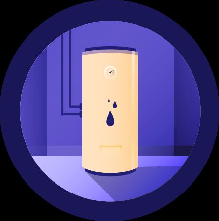 Chauffe-eau: <br>Moins d'énergie en période de pointe <br>sans compromettre la quantité d'eau chaude